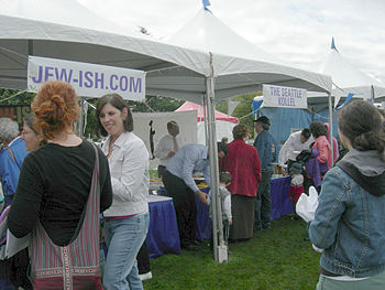 English: Jewish Community Festival, Downtown P...