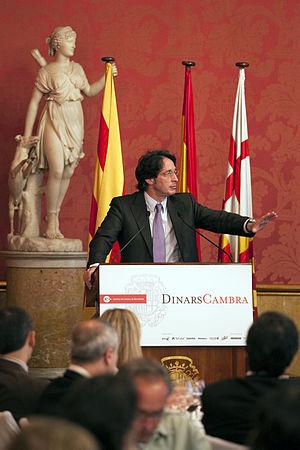 El candidat a l'alcaldia de Barcelona per la c...