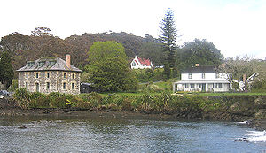 Historic Kerikeri buildings -- Stone Store, St...