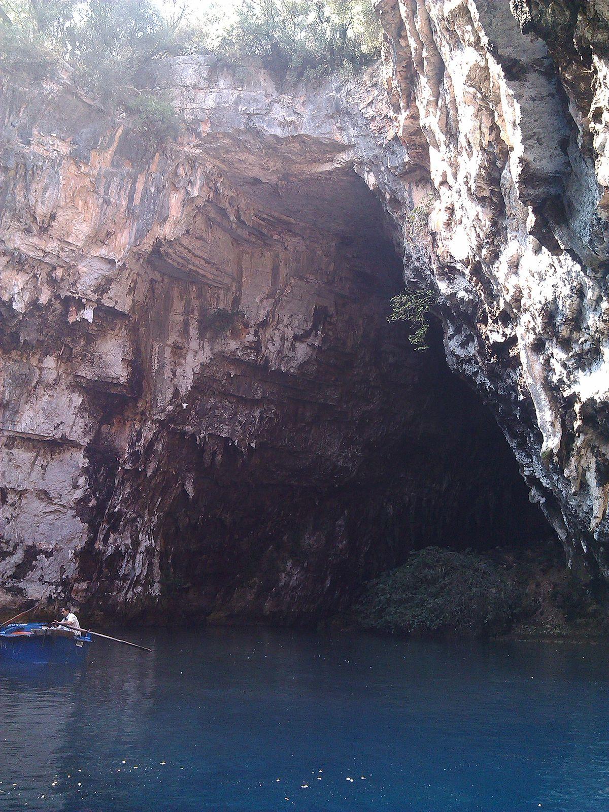 Melissani Cave  Wikipedia