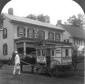 American milkman, circa 1925