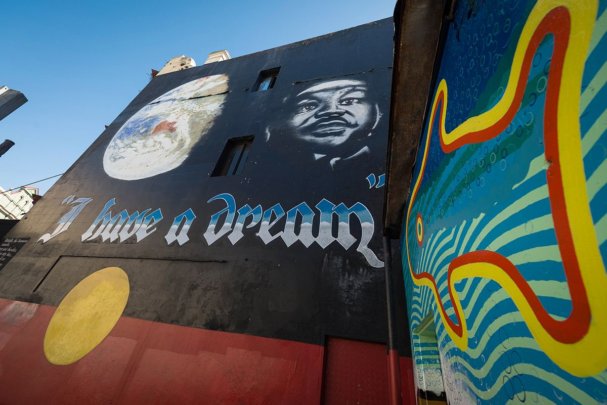 Political Street Art Protest