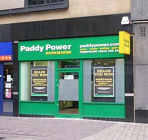 English: Paddy Power - Broadway