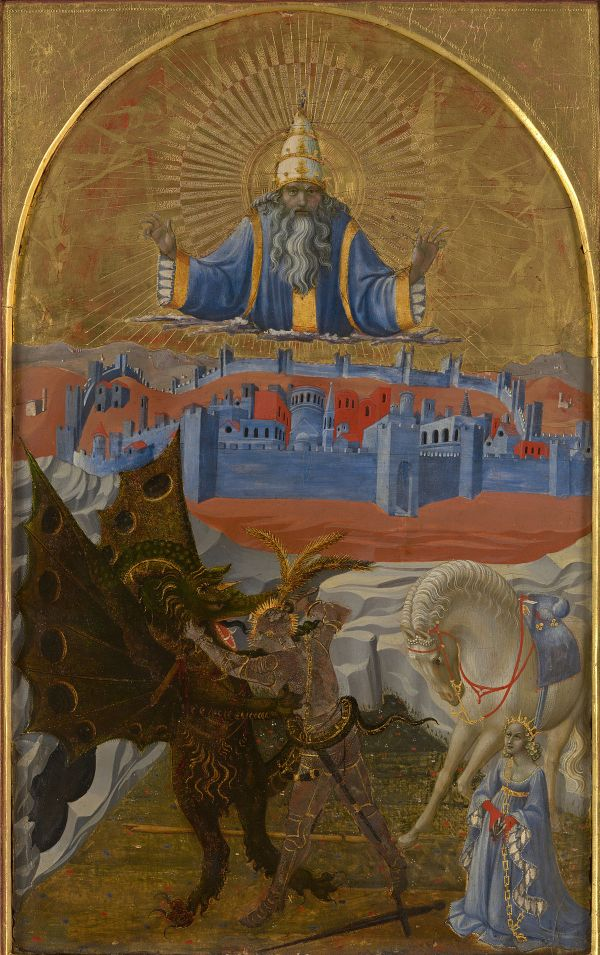 Saint-George Slaying Dragon