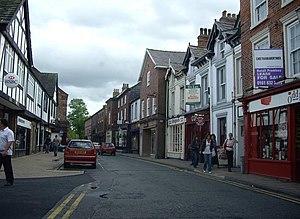 English: Princess Street, Knutsford