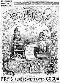 Punch magazine was co founded by Mayhew in 1841.
