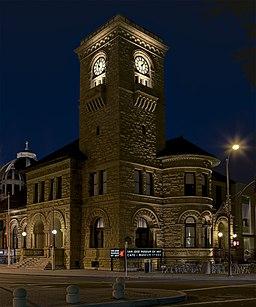 SJ Museum of Art at Night