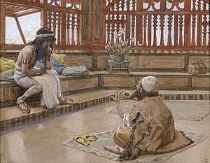 English: Joseph Converses With Judah, His Brot...