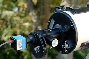 An instrument assembly for astrophotography, f...