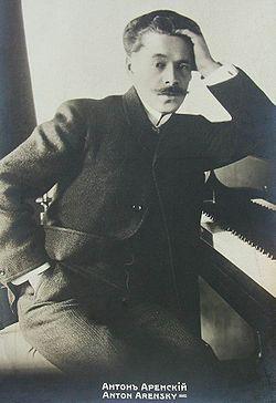 Anton Arensky, 1895