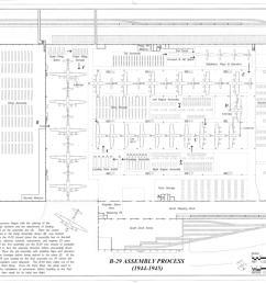 file b 29 assembly process offutt air force base glenn l martin nebraska bomber plant building d peacekeeper drive bellevue sarpy county  [ 1280 x 853 Pixel ]