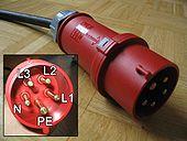 3 phase 5 pin socket wiring diagram bmw e61 radio iec 60309 wikipedia 32 a 400 v 3p n e 6h 180 plug