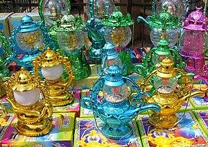 Ramadan lanterns, Souq el Maadi, Cairo, Egypt