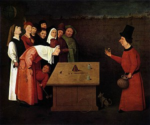 The Conjurer, attributed to Hieronymus Bosch, ...