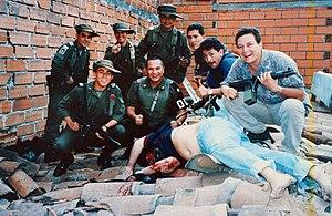 English: Members of Colonel Martinez's Search ...