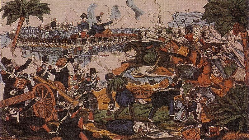 Siege of Constantine (1836) during the French conquest of Algeria.