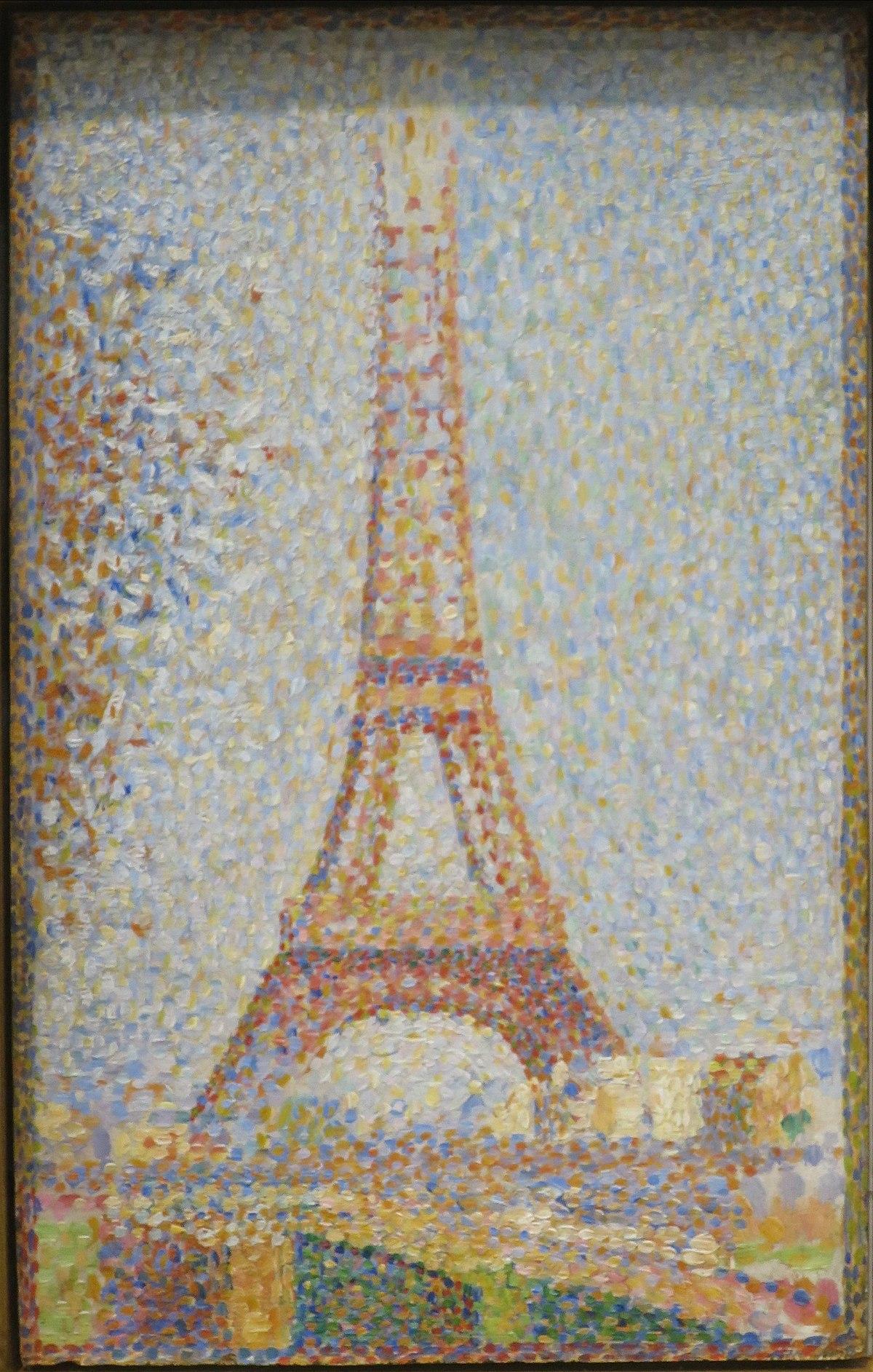 La Tour Eiffel Seurat  Wikipedia