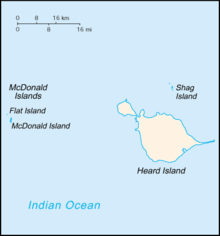 Heard Island and McDonald Islands