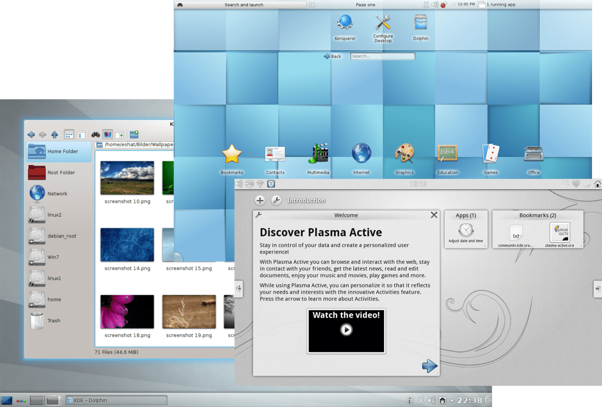 3d Wallpaper Software Kde Plasma 4 Wikipedia