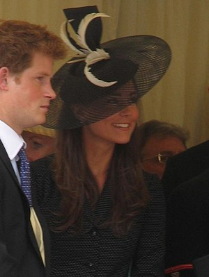 Kate Middleton at the Garter Procession (with ...