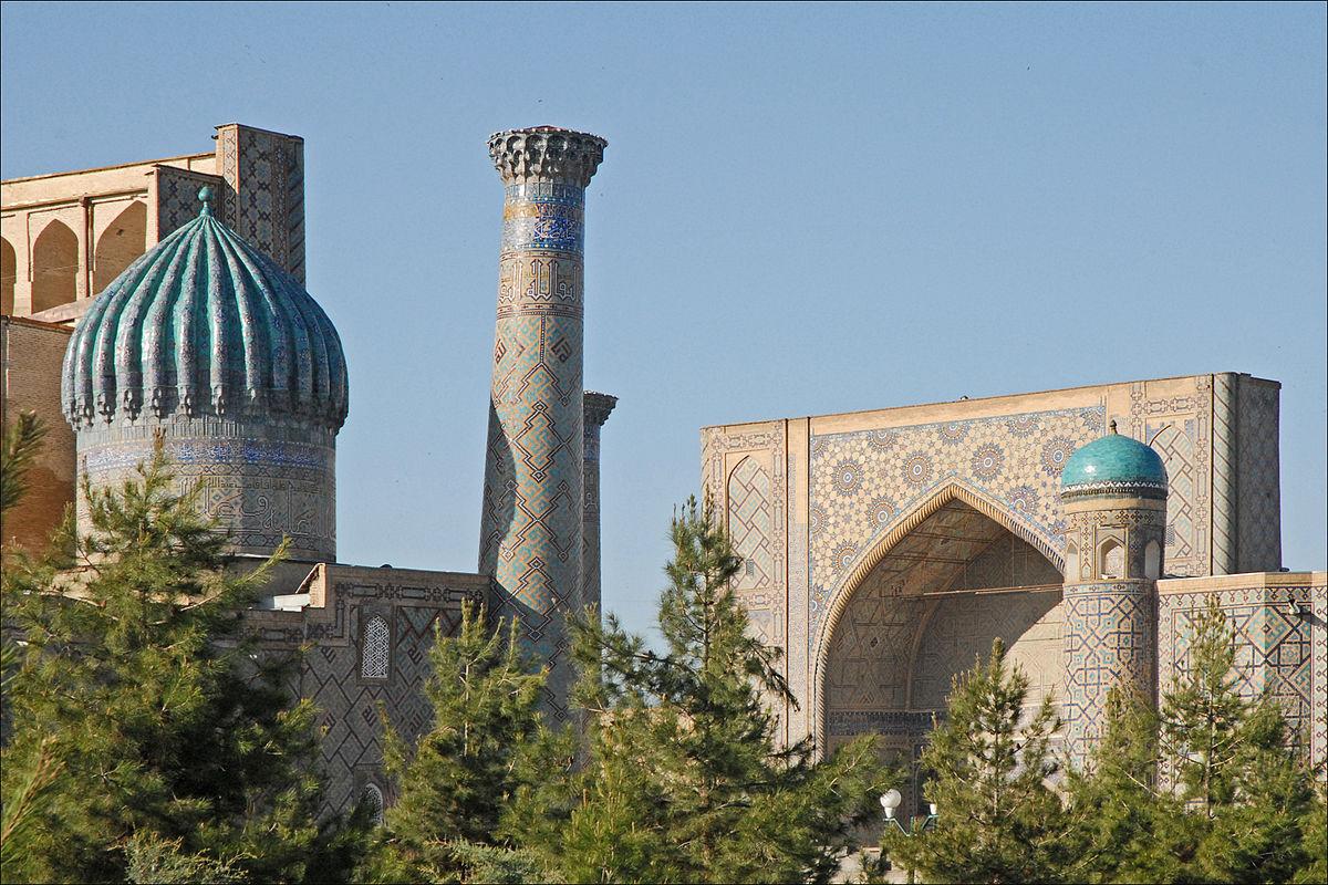 Ulugh Beg Madrasa Samarkand  Wikipedia