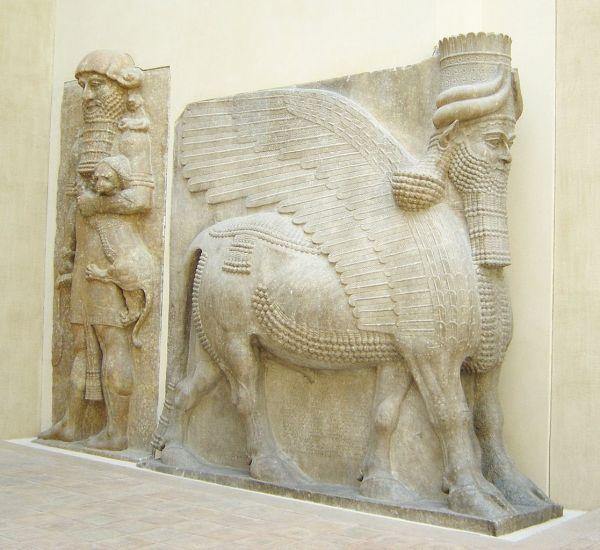 Assyrian Winged Bull Lamassu