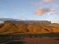 Monte Roraima en la Gran Sabana, Estado Bol�var.