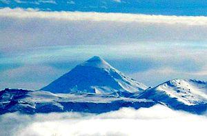 San Martín de los Andes - Volcán Lanín (vista ...