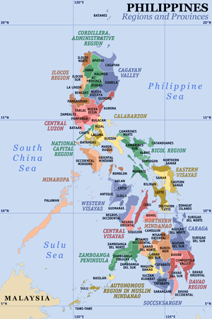 Provinces and regions of the Philippines