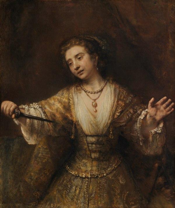 Lucretia by Rembrandt