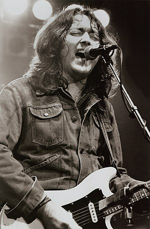 English: RORY GALLAGHER - Manchester Apollo -1982