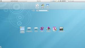 English: Screenshot showing KDE 4.4's new netb...