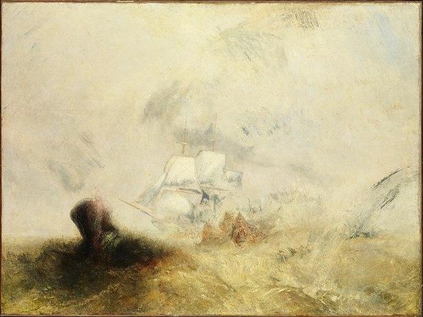 """Whalers"" by J. M. W. Turner"