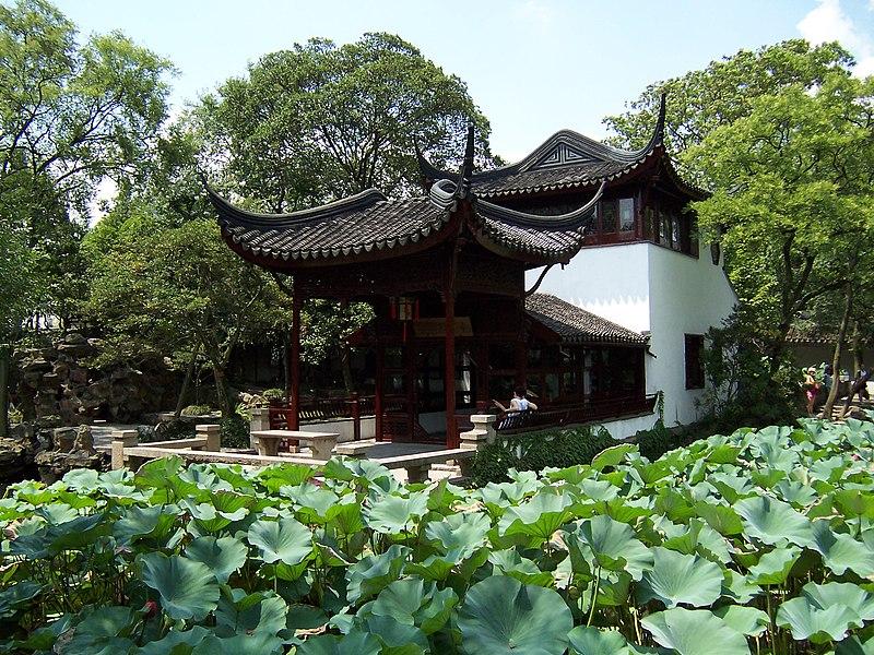 Xiangzhou (Îlot aux parfums) du Zhuozhengyuan