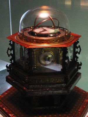 1851 Japanese-made perpetual clockwatch (Wadok...