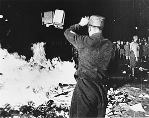 1933 May 10 Berlin book burning -- taken from ...
