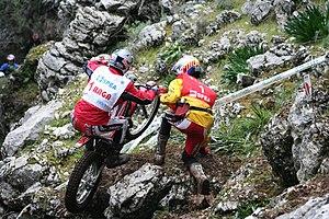 Adam Raga at Trial Spanish GP 2007