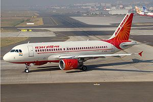 Air India (Erstwhile Indian Airlines) A319 tax...