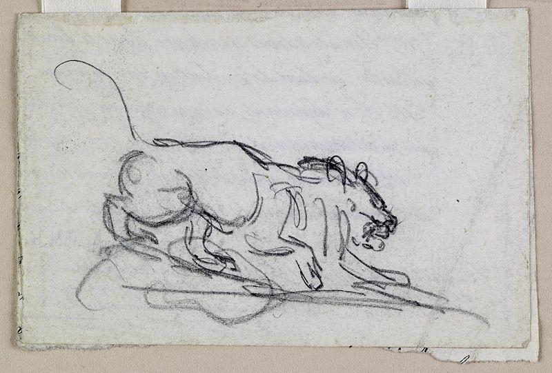File:Antoine-Louis Barye - Stalking Lion - Walters 372123.jpg