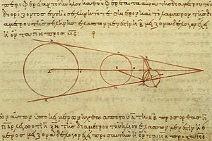 Aristarchus's 3rd century BC calculations on t...