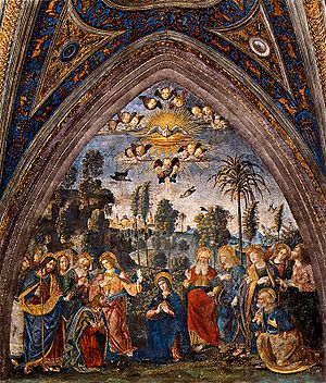 The Assumption of the Virgin The Descent of th...