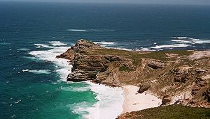 Pocket beach at The Cape of Good Hope