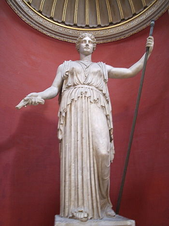 English: A Colossal Statue of Ceres, identifie...