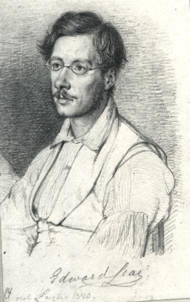 File:Edward Lear drawing.jpg