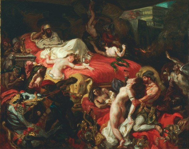 Ferdinand-Victor-Eugène Delacroix, French - The Death of Sardanapalus