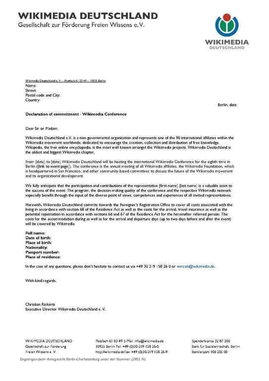 application letter for