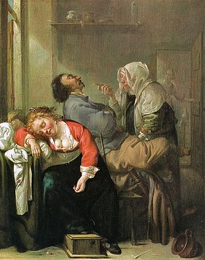 English: Sleeping Woman