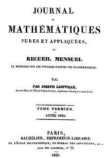 Joseph Liouville  Wikipedia