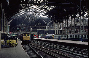 Liverpool Street station in 1984