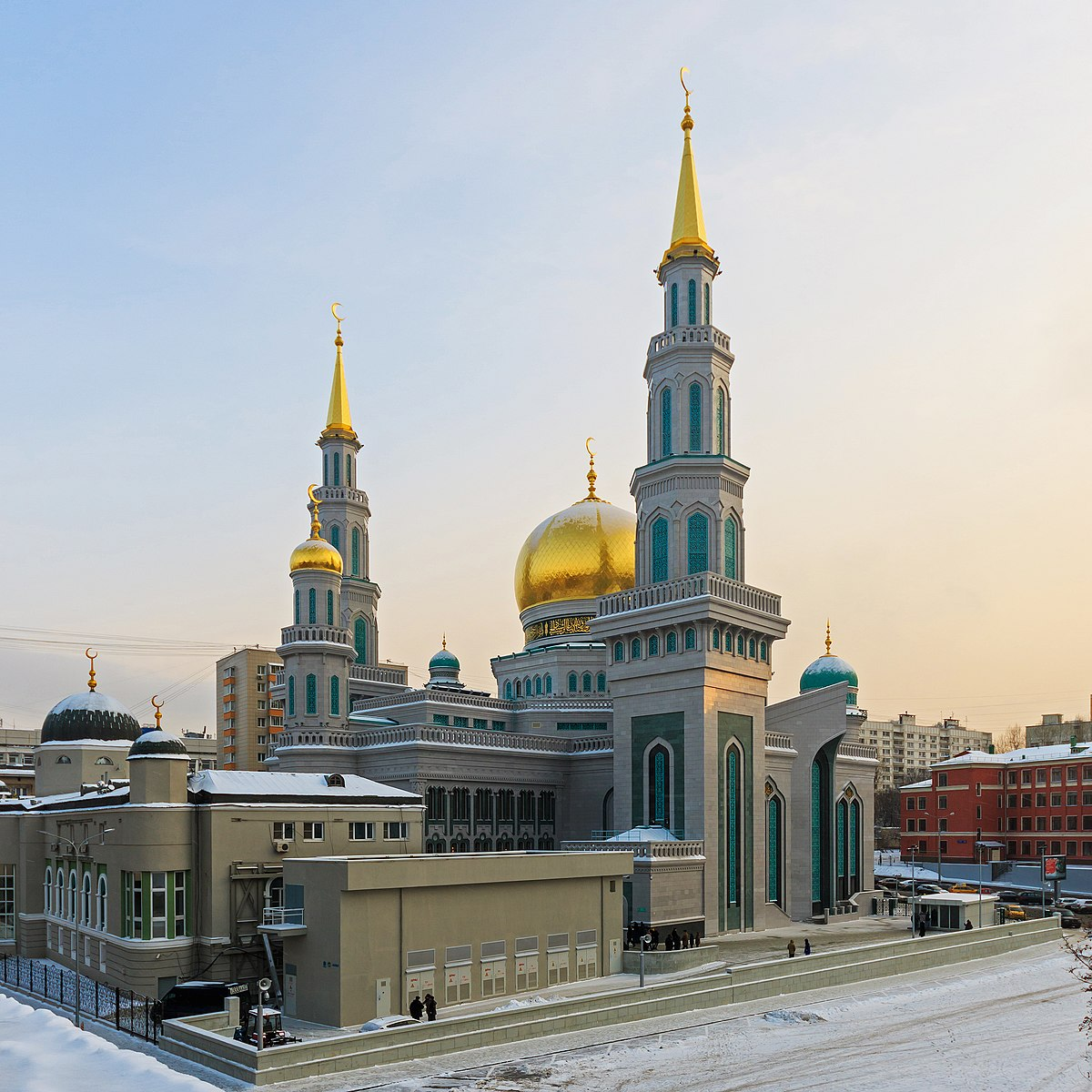Moscow Cathedral Mosque  Wikipedia